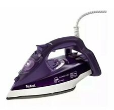 Tefal Fv9640 Ultimate Pure Steam Iron Purple With Anti Calc Ironing 400