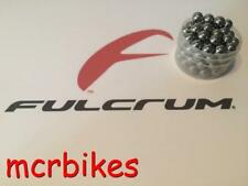 FULCRUM Red Wind/ Metal Front/ Rear Wheel Hub Bearing Kits 1 Hub =30 Steel Balls