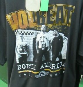 VOLBEAT TEE T SHIRT XL  NEW ROCK CONCET TEE
