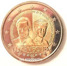 2 Euro Gedenkmünze/Sondermünze Luxemburg 2019 Thronbesteigung von Charlotte