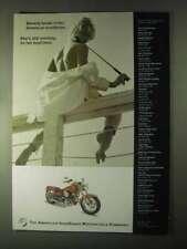 2000 American IronHorse Motorcycle Ad - Broke In