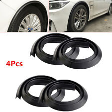 4X 1.5M Universal Fender Flares Protector Wheel Moulding Strip Stick Edge Rubber