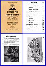 Carrier 2PDR ( Modified Bren Gun Carrier) Aust Instruction Book on DVD