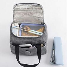 Waterproof Insulated Lunch Bag Necessary Picnic Pouch Unisex Thermal Accessories