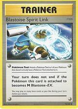 POKEMON EVOLUTIONS CARD: BLASTOISE SPIRIT LINK - 73/108