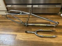 Old school BMX Mongoose Supergoose US Frame and forks