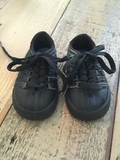 K-Swiss Kids Classic Vintage PS Tennis Shoe Black Infant Size 3M US