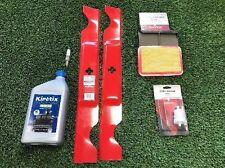 Raven 7100 Lawn Mower Air Filter Fuel Filter Spark Plug & Blade Maintenance Kit