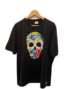 ZARA dnwr Skull Print T Shirt Size XL