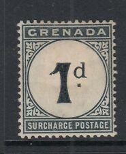 Grenada 1892 1d Postage Due SGD1 Mounted mint
