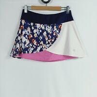 Eleven by Venus Williams Women's Size M Pink Blue White Tennis Skort Skirt 12-14