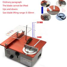 Mini Saw Small Table DIY Small Table Saw Desktop Cutting Machine Multifunction