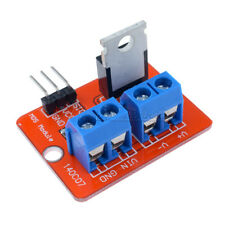 2 x TOP MOSFET Button IRF520 MOSFET Driver Module For Arduino ARM Raspberry pi M
