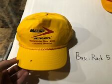 Minneapolis Moline Tractor Farm Embroidered Cap Hat Farming On The Move