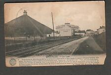 Belgium post card Waterloo- Le Lion /railroad tracks/Grand Musee Prince garage