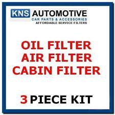 Mercedes CLK200 (02 -11) olio, CABINA & Filtro Aria Kit di servizio