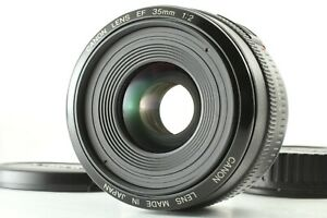 【MINT+】 Canon EF 35mm f/2 Wide Angle Prime AF Lens For EOS Mount From JAPAN #978