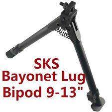 "SKS Bayonet Mount Aluminum Medium Height Short Bipod 9"" - 13"""