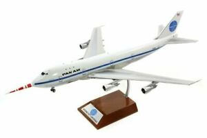 """1:200 INF200 PAN AM 747-100 N732PA """"Clipper Storm King"""" W/Stand"""