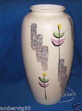 Vintage West Germany BIG Large Floor Vase Bodenvase Decor Europe pottery Flower