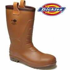 DICKIES GROUNDWATER SAFETY RIGGER BOOTS Waterproof Steel Toe Wellington Wellies