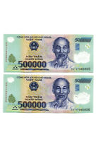 1 Million Vietnamese Dong (500000 VND x 2) - Vietnam Banknotes Currency