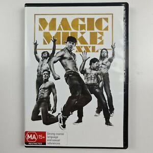 Magic Mike XXL DVD - Channing Tatum - Region 4 PAL - FREE TRACKED POSTAGE