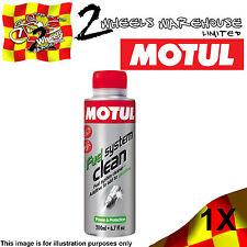 1x 200ml MOTUL FUEL SYSTEM CLEAN CLEANER ADDITIVE PETROL ENGINE MOTOR CYCLE BIKE
