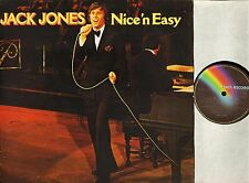 JACK JONES nice n easy 5C062.99046 dutch mca 1977 LP PS EX/VG