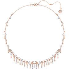 SWAROVSKI MAYFLY NECKLACE, LARGE, WHITE, ROSE GOLD PLATING 5409354
