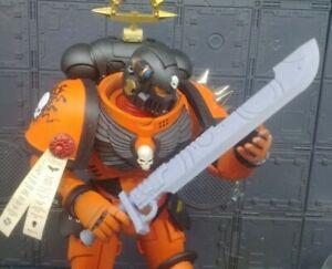 Warhammer 40k McFarlane Primaris Custom Deathwatch Xenophase Blade