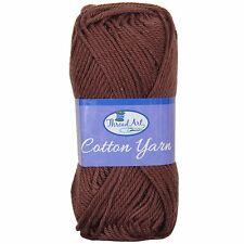 Threadart Crochet Cotton Yarn - #4 - 50 gram skeins - 85 yds - Worsted Medium Wt