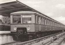 CARTE POSTALE env. 14x9 cm 60 années Berliner S-Bahn train de la série 276.1