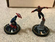 Heroclix Spider-Man 220 + Colonelamerica 221 Supernova Zombie Chase - NO Cards