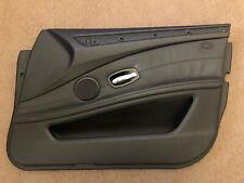 BMW 5er E60/E61 LCI FRONT RIGHT DOOR CARD TRIM DAKOTA BLACK LEATHER