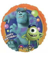 """18"""" Monsters University Mylar Foil  Happy Birthday Balloon Party Supplies"""