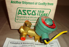 Asco EFHB8300A82RF Electric Solenoid Valve 3/8