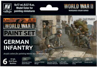 AV Vallejo Model Color Set - WWII German Infantry (6) VAL70206
