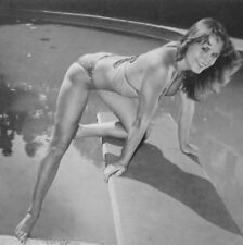 JILL OSBORN sexy clippings B&W photos 1980s brunette bikini Dangerous Curves
