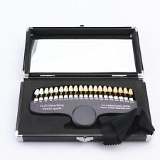 Dental Bleaching Shade Guide Teeth Whitening 3D guides Comparator 20 Colors