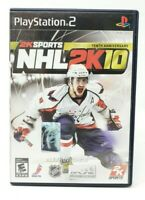 NHL 2K10 Sony PlayStation 2 PS2 Game
