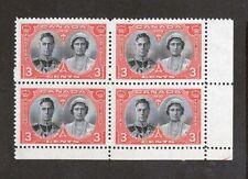 Canada Scott 248 - King George VI & Queen Elizabeth. 3 Cent MNH. OG. #02 CAN248