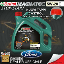 4 LITRI OLIO CASTROL MAGNATEC STOP START 5W20 E FORD WSS-M2C948-B