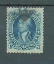 USA 1861 90c pale blue sg.68a used