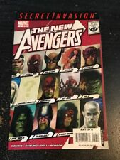 """The New Avengers#42 Awesome Condition 8.0(2008)""""Secret Invasion"""" Cheung Art!!"""