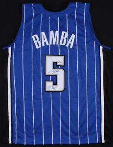 Mohamed Bamba Signed Orlando Magic Jersey (Beckett COA) #6 Overall Pick 2018