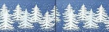2 X Christmas Tree Window Cling