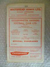 More details for 1965 kidderminster harriers v lower gornal athletic, 27th nov