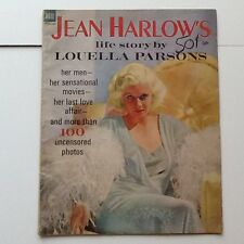 1964 Jean Harlow  Life Story MGM Sex Symbol Clark Gable Powell Bern Death
