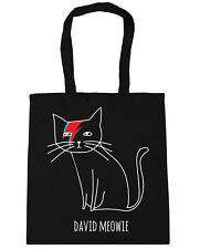 David Meowie Tote Shopping Gym Beach Bag 42cm x38cm, 10 litres